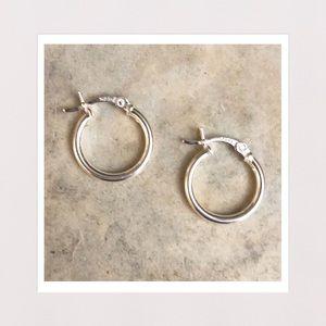 Jewelry - 🔵 2 for $20 | Sterling Silver Mini Hoop Earrings
